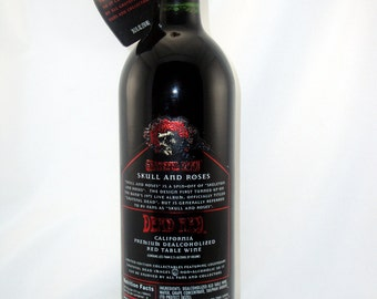 Dead Red Unwine - Skull & Roses First Edition