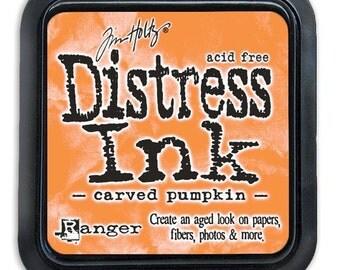 Ranger - Color of Month 2015 - Tim Holtz - Carved Pumpkin - Distress Ink Pad