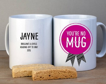 Personalised Congratulations Graduation Or Exams Mug/ Congratulations Gift/ Graduation Gift/ End of Exams Gift