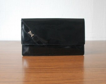 Vintage Patent Leather Clutch