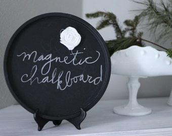 Magnetic Chalkboard Tray on Stand