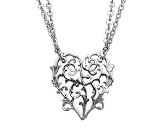 """Spoon Necklace: """"Alicia"""" by Silver Spoon Jewelry"""