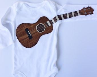 Ukelele Bodysuit with Strings