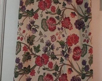 Tablecloth 76 X 48 Cottage Chic Floral Rustic Colors Home Decor