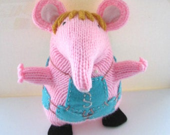 """Hand Knitted """" Small """" Clanger Made to Order"""
