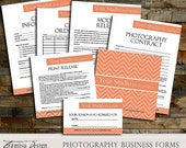 SALE Photography Business Forms - Contract, Model Release,Print Release, sku 6-11