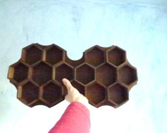 honeycomb wood furniture