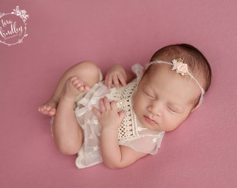 Newborn Photography Fabric Backdrop -  Soft Addison Knit Backdrop in Pink -  2 Yards