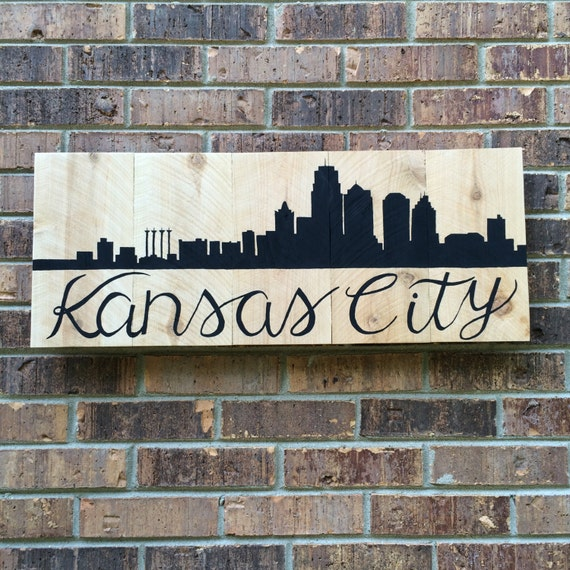 Kansas City Wood Wall Art