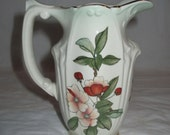 """Royal Worcester PALISSY Floral Ware 5.25"""" Pitcher Jug, ca. 1960s"""