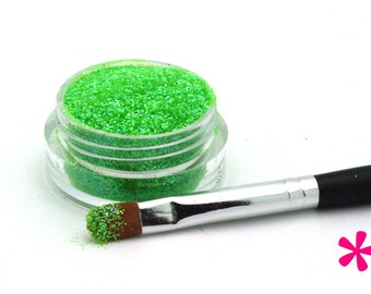 CANDIE GREEN Cosmetic Glitter for Makeup, Eye Shadow, Lips, Nail Polish, Body Shimmer & Hair Sparkle (B008)