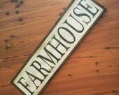 Large Farmhouse Sign