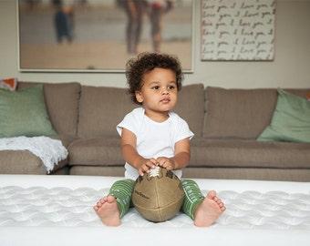 Touchdown Baby Leg Warmers