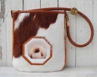 Pet Portrait Custom Tote Bag