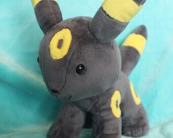 Chibi Umbreon pokemon plushie