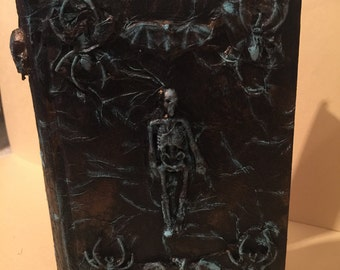 Book Safe--Skeletons and Spiders and Bats