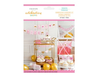 Princess Party Banner Kit by Kim Byers Celebration Shoppe - Party Decorations and Supplies
