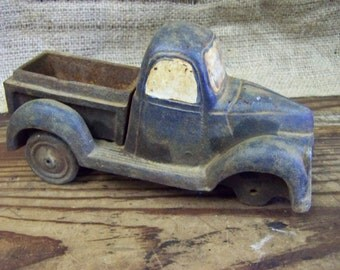 Antique Toy Truck Cast Iron Toy Truck Metal Truck