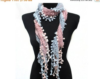 SALE Day Lace Scarf Shawl Summer Fashion Accessories