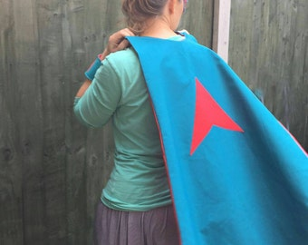Adult Superhero Set- cape, mask and cuffs