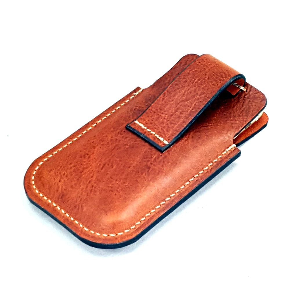 leather iphone 6 holster w belt loop for driving xms