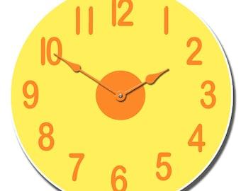 Lemon Twist Wall Clock