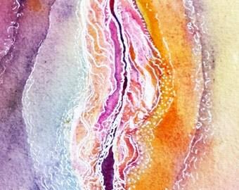 Yoni  / Vulva Portrait - A celebration of woman.