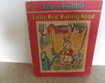 Peter Rabbit and Little Red riding Hood Book