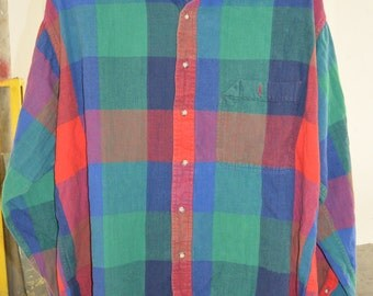 VTG Plaid Flannel Buttondown