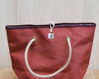 """Recycled Sail Bag """"Navy"""""""