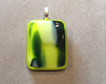 Green and Blue Pendant