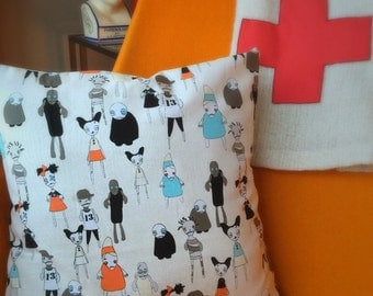 Zombie Doll Pillow Case