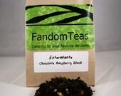 Exterminate: Doctor Who Dalek Inspired Tea Blend (Chocolate Raspberry Blend)