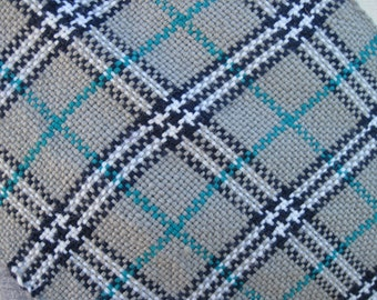 Plaid handwoven Scarf