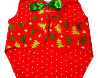 Christmas Tree Waistcoat Reversible Vest