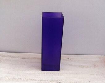 Purple Glass Vase.