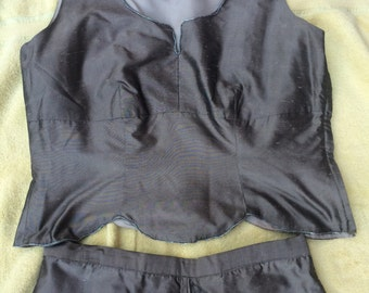 Hand made womens suit
