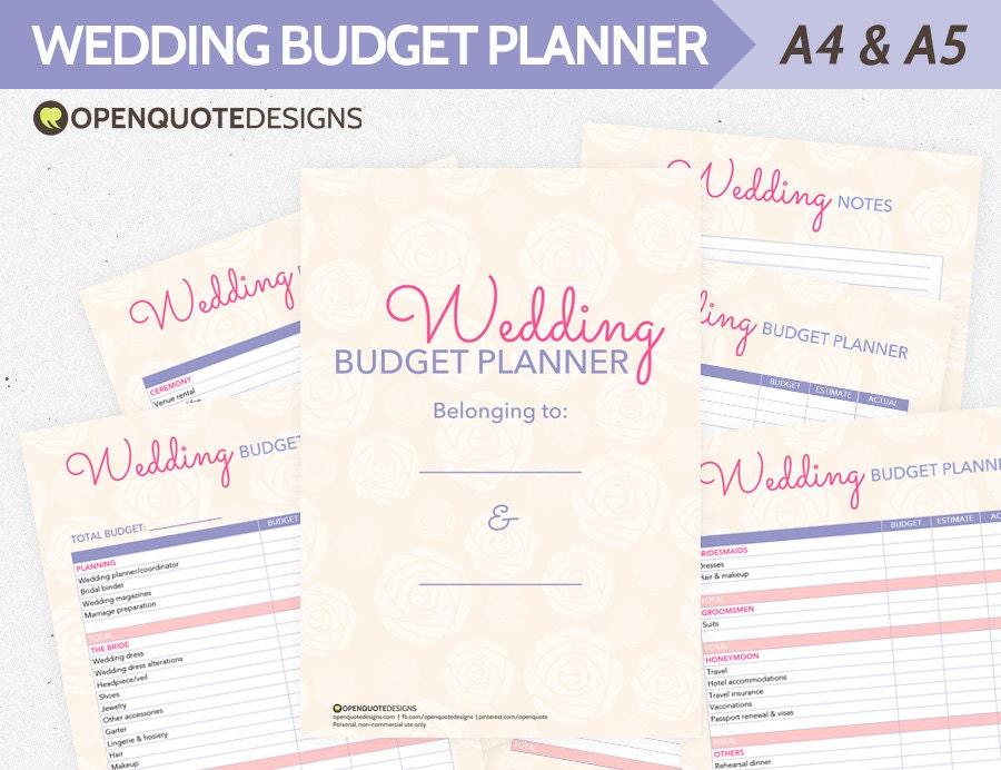 Wedding Planning Wedding Planner Organizer Wedding Budget