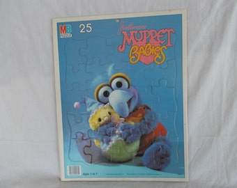 Vintage Muppet Babies Puzzle