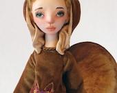 """Art doll OOAK """"Angel of forest dwarfs"""""""