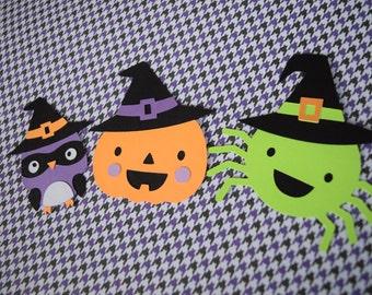 Halloween Creatures-Set of 3 die cuts