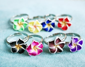 Hawaii flower ring