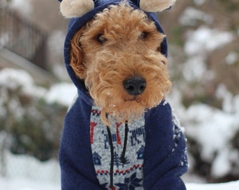 Nordic Winter Hoodie for Dogs