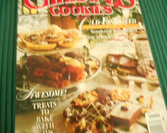 BH&G Christmas Cookies, Paperback 1991, Cookie Recipes