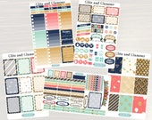 Glitz and Glamour Weekly Planner Kit - Weekly Stickers, Planner Stickers, Weekly View Planner, for use with ERIN CONDREN LifePlanners
