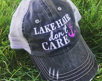 Hat {Lake hair don't care} FREE piece of jewelry with every order! 4 colors! Purple, pink, coral or teal.