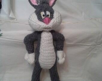 Crocheted Bugs Bunny