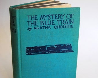 Vintage Book, The Mystery of the Blue Train