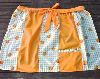 Simply Citrus Apron Retro 50s handmade