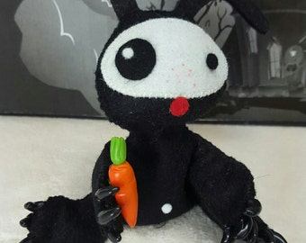 Beanie Mr. Buns the bunny rabbit doll Gloomsville Ruby Gloom